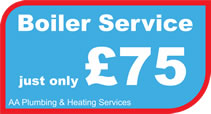 Boiler serving in Shepshed